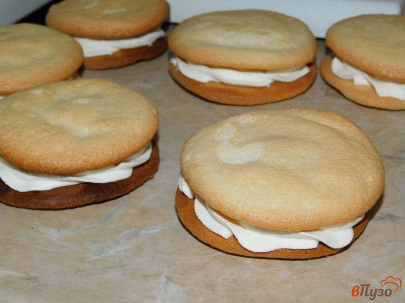 Фото приготовление рецепта: Пирожное «Буше» шаг №5