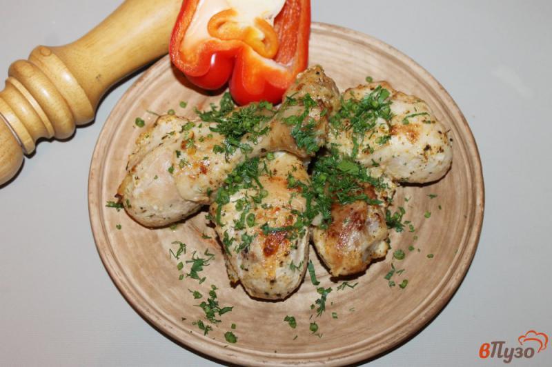Фото приготовление рецепта: Куриные ножки запеченные в духовке шаг №7