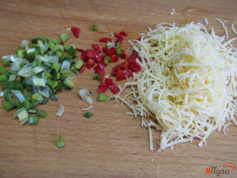 Фото приготовление рецепта: Французские блинчики с начинкой из грибов шаг №3