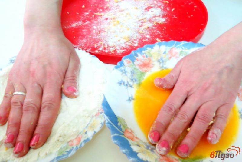 Фото приготовление рецепта: Суп затируха с белыми грибами шаг №7