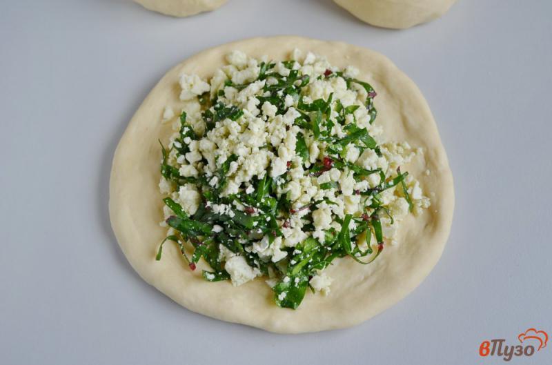 Фото приготовление рецепта: Осетинский пирог «Сахараджин» шаг №7