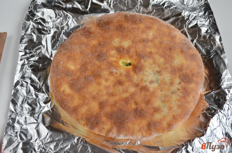 Фото приготовление рецепта: Осетинский пирог «Сахараджин» шаг №10