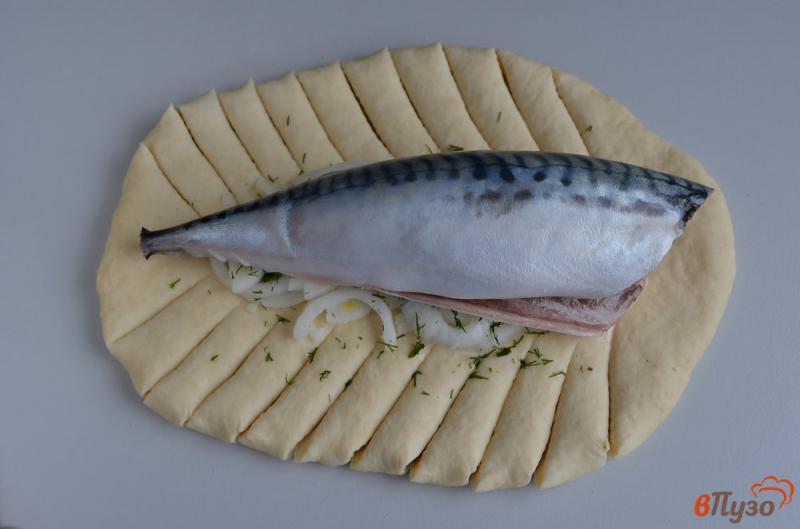 Фото приготовление рецепта: Русский рыбник шаг №7