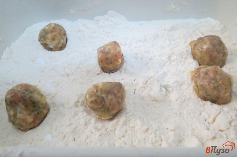Фото приготовление рецепта: Самые ленивые пельмени шаг №7