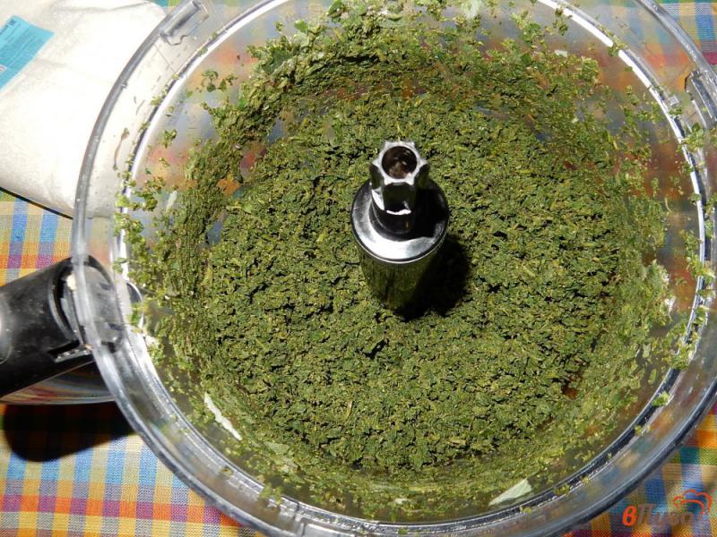 Фото приготовление рецепта: Варенье из мяты шаг №3