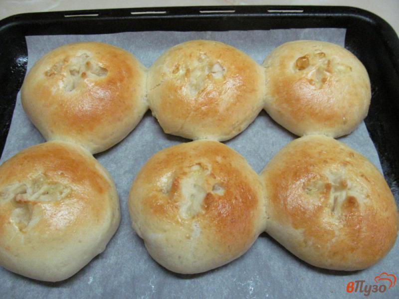 Фото приготовление рецепта: Венские булочки шаг №11