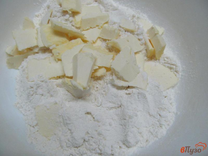 Фото приготовление рецепта: Печенье с творогом и апельсином шаг №1