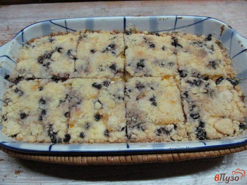 Фото приготовление рецепта: Печенье с творогом и апельсином шаг №9
