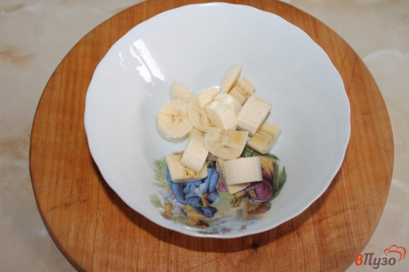 Фото приготовление рецепта: Фруктовый салат с грецкими орехами и йогуртом шаг №1