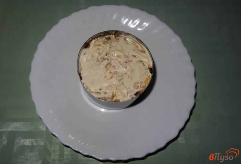 Фото приготовление рецепта: Салат с сельдереем, яблоком и сыром шаг №9