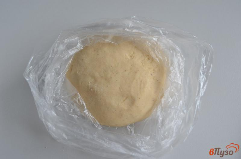 Фото приготовление рецепта: Печенье на ёлочку шаг №6