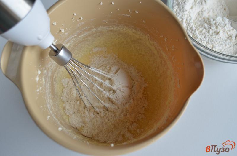 Фото приготовление рецепта: Печенье на ёлочку шаг №5