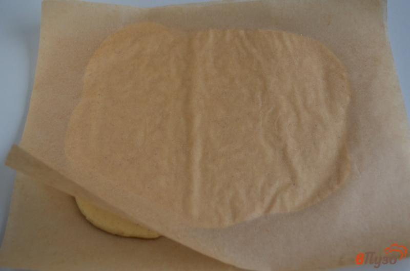 Фото приготовление рецепта: Печенье на ёлочку шаг №9
