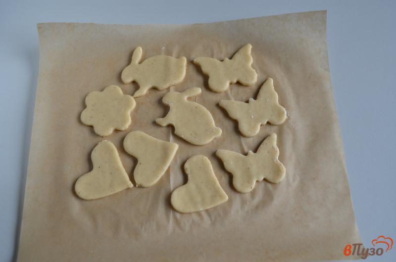 Фото приготовление рецепта: Печенье на ёлочку шаг №11