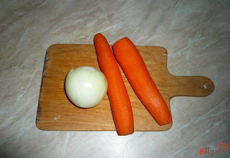 Фото приготовление рецепта: Запеканка из печени слоеная шаг №6