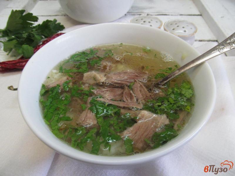 Фото приготовление рецепта: Вьетнамский суп Фо Бо шаг №4