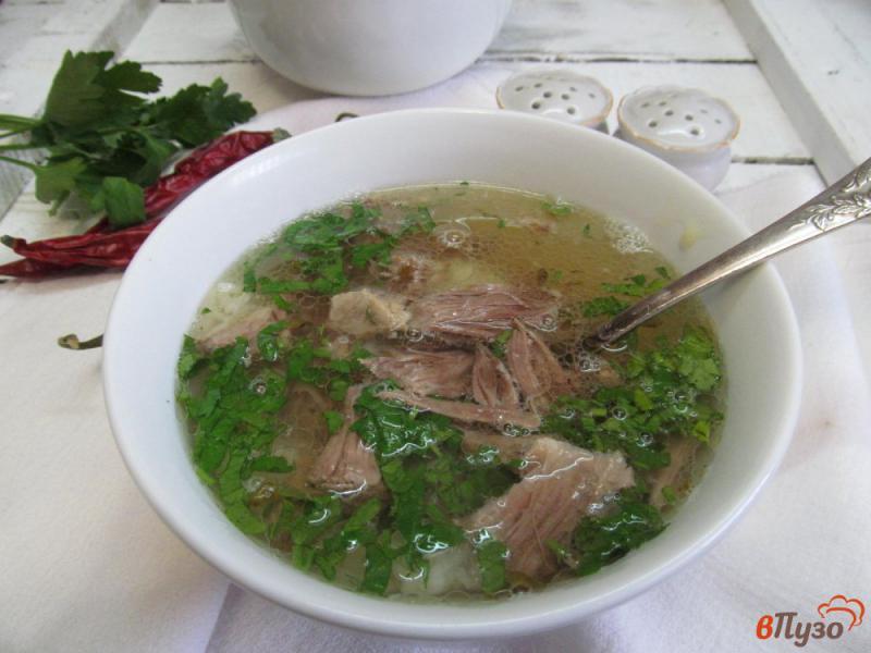 Фото приготовление рецепта: Вьетнамский суп Фо Бо шаг №5
