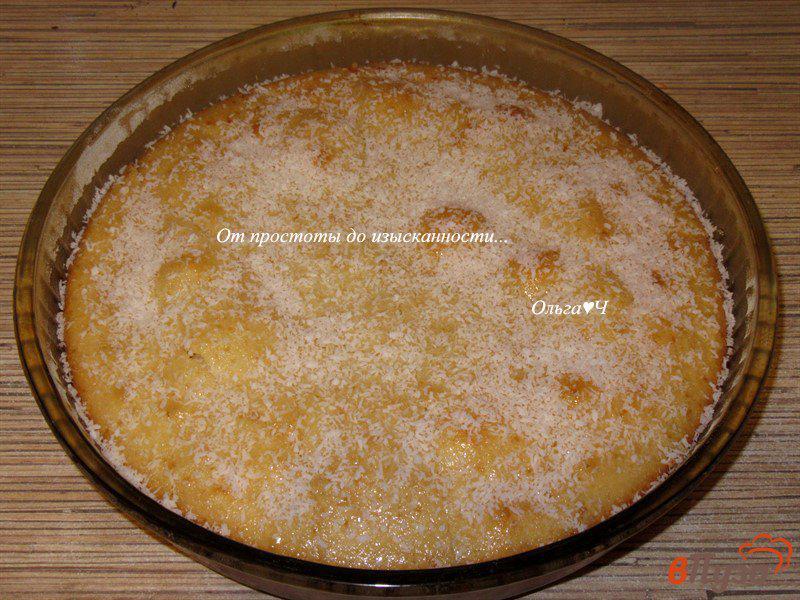 Фото приготовление рецепта: Ревани с мятным сиропом шаг №5