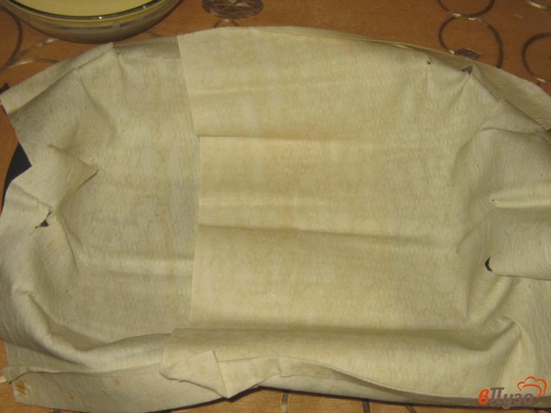 Фото приготовление рецепта: Ачма из лаваша с яйцом и сыром шаг №4