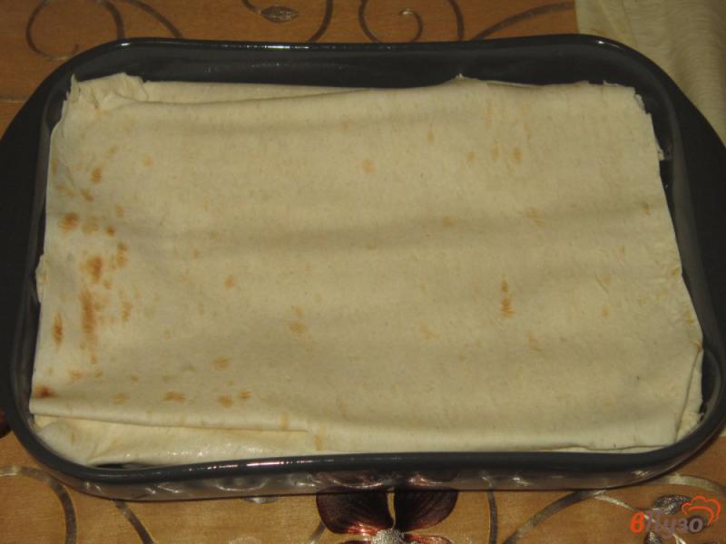 Фото приготовление рецепта: Ачма из лаваша с яйцом и сыром шаг №13