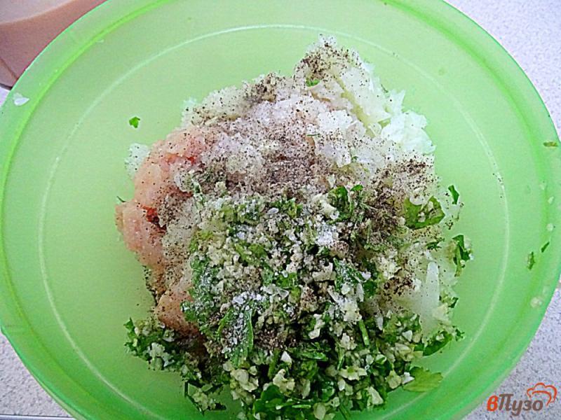 Фото приготовление рецепта: Карныярык (фаршированные баклажаны по-турецки) шаг №8