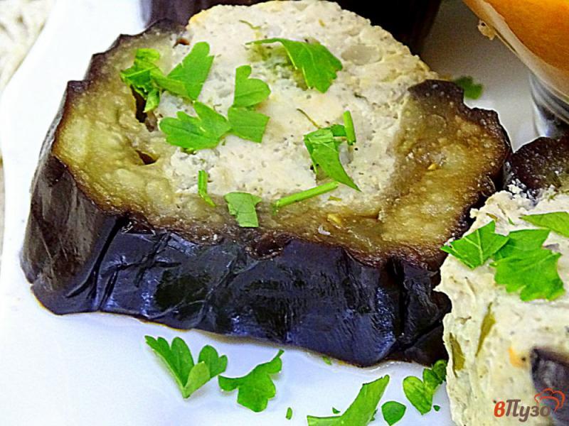 Фото приготовление рецепта: Карныярык (фаршированные баклажаны по-турецки) шаг №12