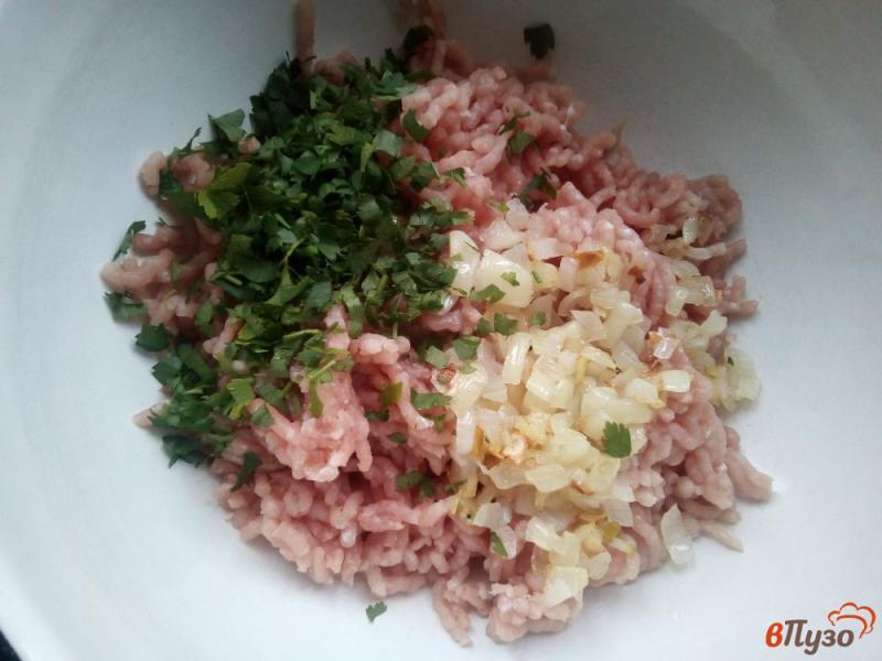 Фото приготовление рецепта: Кеббе со свинины и булгура шаг №6