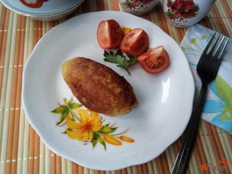 Фото приготовление рецепта: Кеббе со свинины и булгура шаг №11