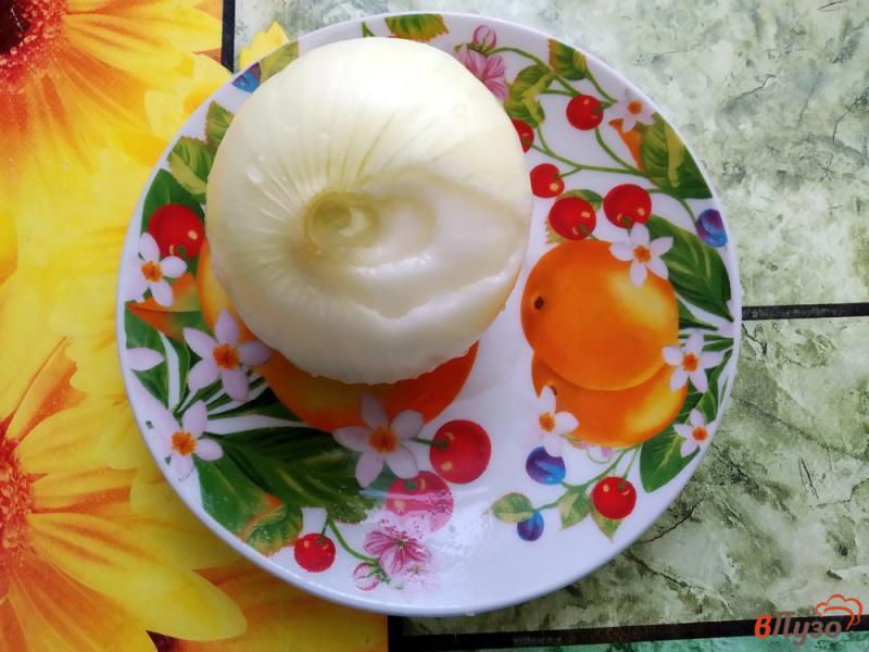 Фото приготовление рецепта: Печеночные котлеты в духовке шаг №2