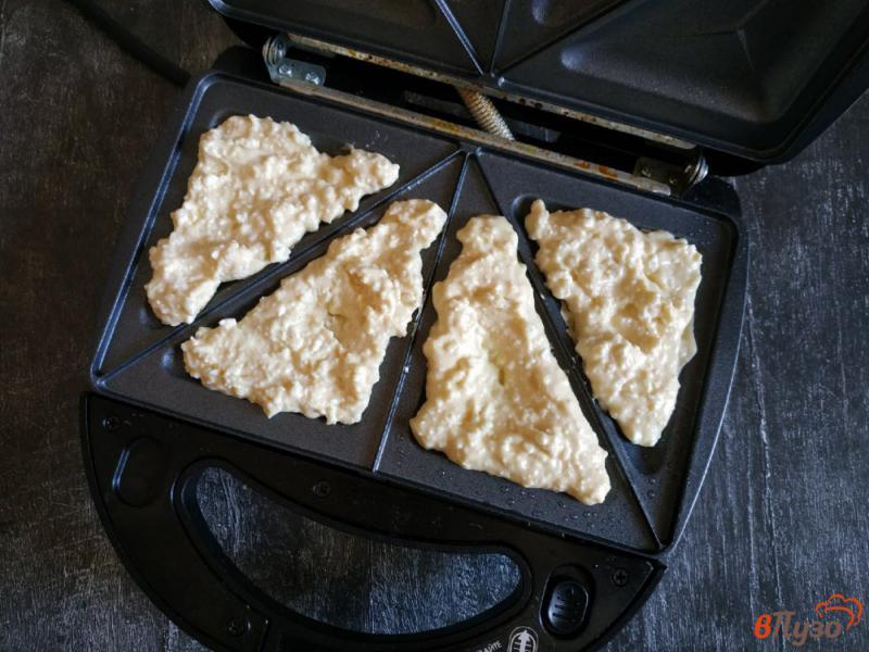 Фото приготовление рецепта: ПП ленивые хачапури шаг №4