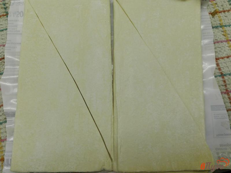Фото приготовление рецепта: Круассаны с сыром и кунжутом шаг №1