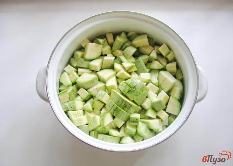 Фото приготовление рецепта: Кабачки в томате на зиму шаг №1