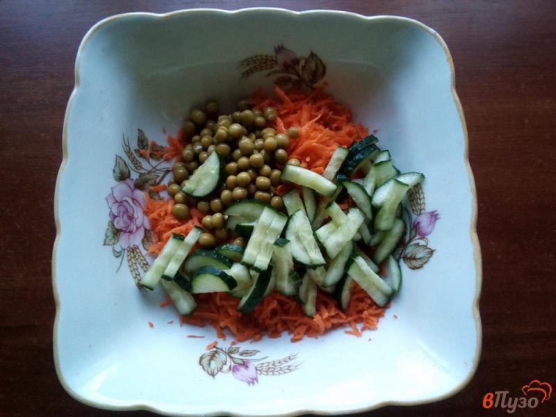 Фото приготовление рецепта: Салат из моркови шаг №3