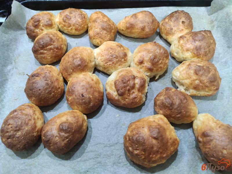 Фото приготовление рецепта: Творожные пончики в духовке шаг №6