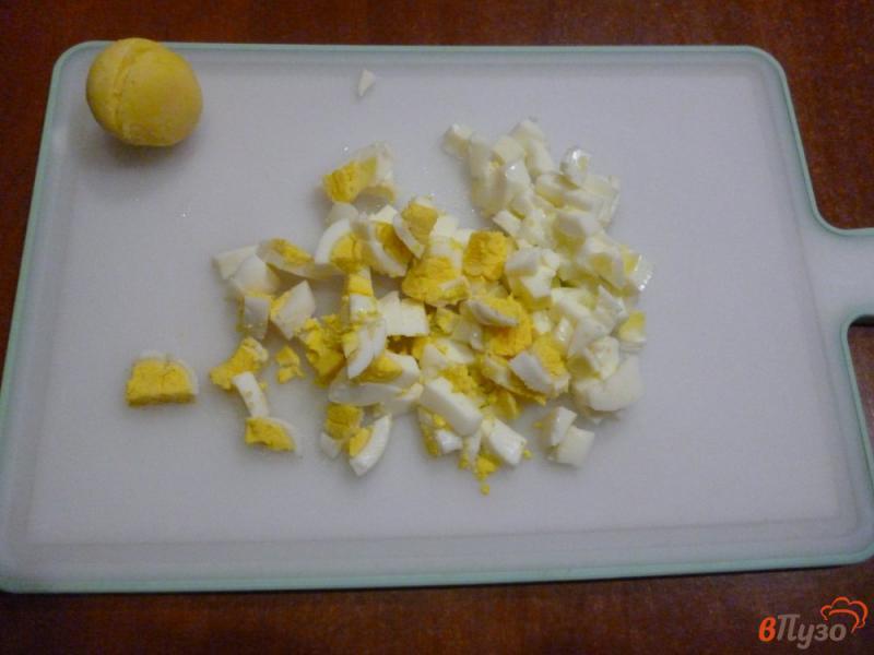 Фото приготовление рецепта: Овощной салат со сметанной заправкой шаг №1
