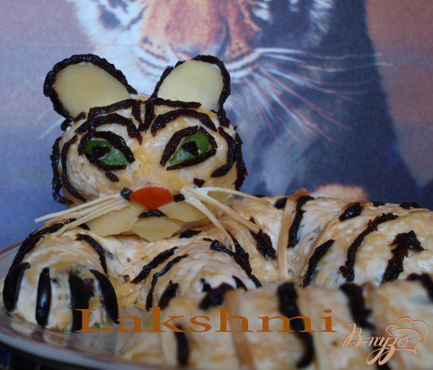 фото рецепта: Салат «Белый тигр»