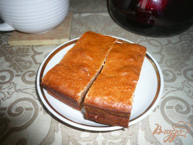 фото рецепта: Медовая коврижка на кефире