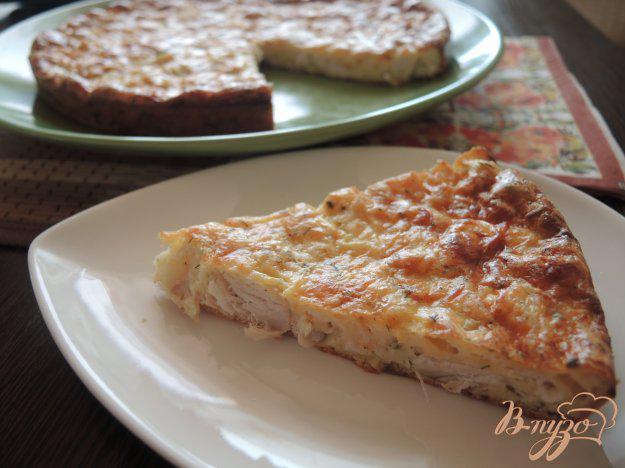 Куриный пирог - рецепт пошаговый с фото