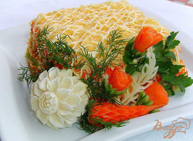 фото рецепта: Салат «Нежность»