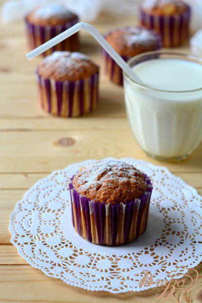 фото рецепта: Кексы на сливках