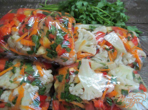 цветная капуста на зиму заморозка рецепты с фото