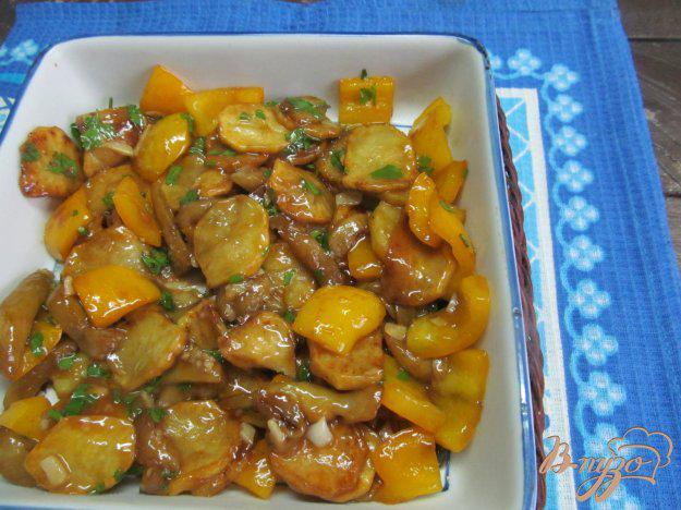 как приготовить баклажаны с картошкой по корейски