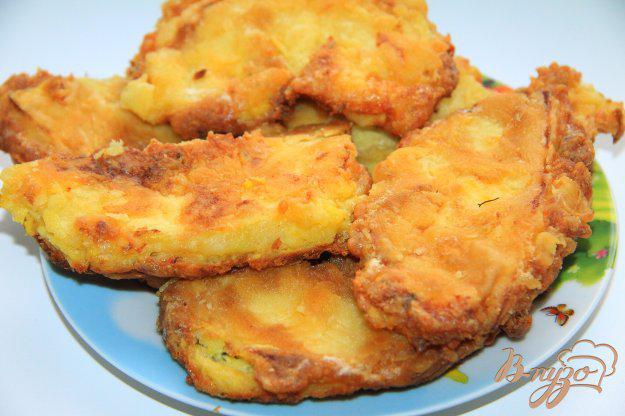 фото рецепта: Жареные патиссоны с сыром