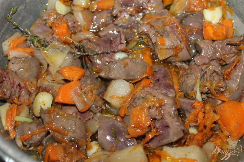 печень индейки рецепты с фото - 10