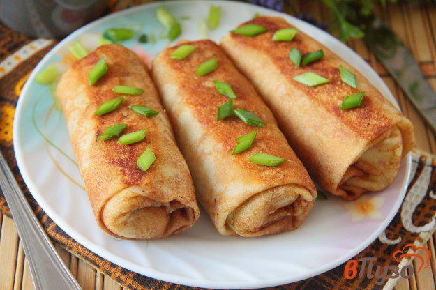 Блинчики из картофельного пюре с киви - рецепт пошаговый с фото