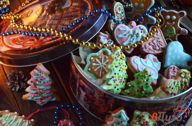 фото рецепта: Печенье на ёлочку