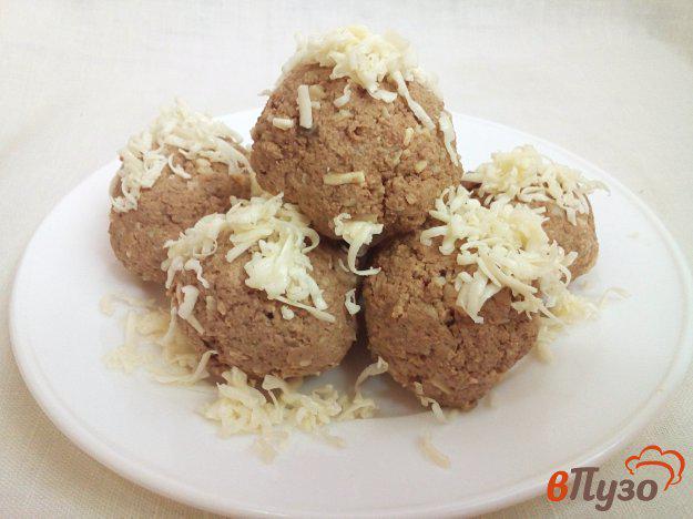 Печеночные шарики с сыром - рецепт пошаговый с фото