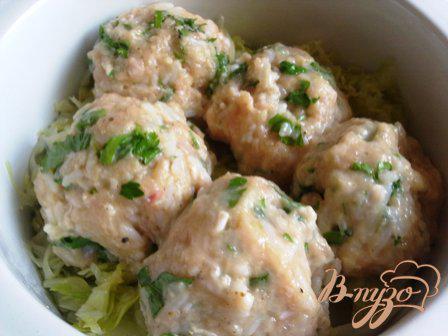 Фото приготовление рецепта: Ленивые голубцы с молодой капустой шаг №6
