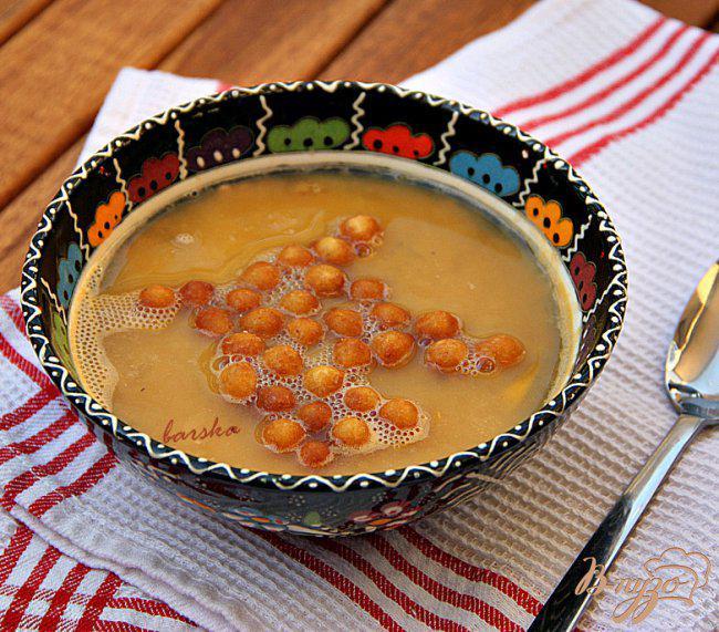 Фото приготовление рецепта: Турецкий суп-пюре из красной чечевицы шаг №5