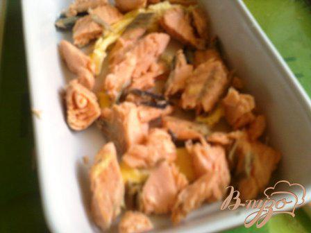 Фото приготовление рецепта: Мидии в сырном соусе шаг №6
